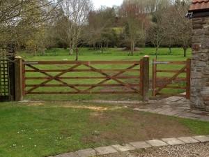 Wooden farm gate supplier in Avon